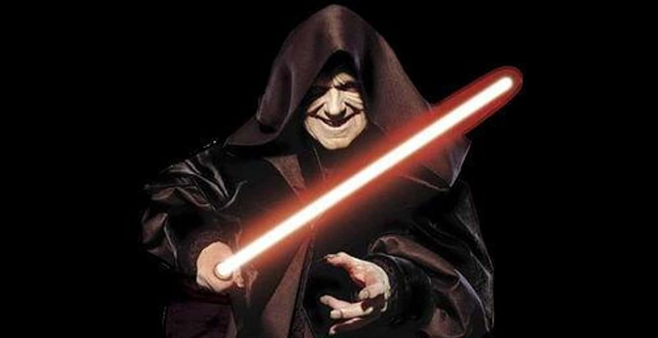 Sidious is listed (or ranked) 2 on the list The Best Sith In The 'Star Wars' Universe