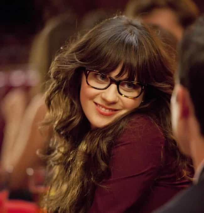 """Jessica """"Jess""""... is listed (or ranked) 4 on the list The Hottest Fictional Characters in Glasses"""