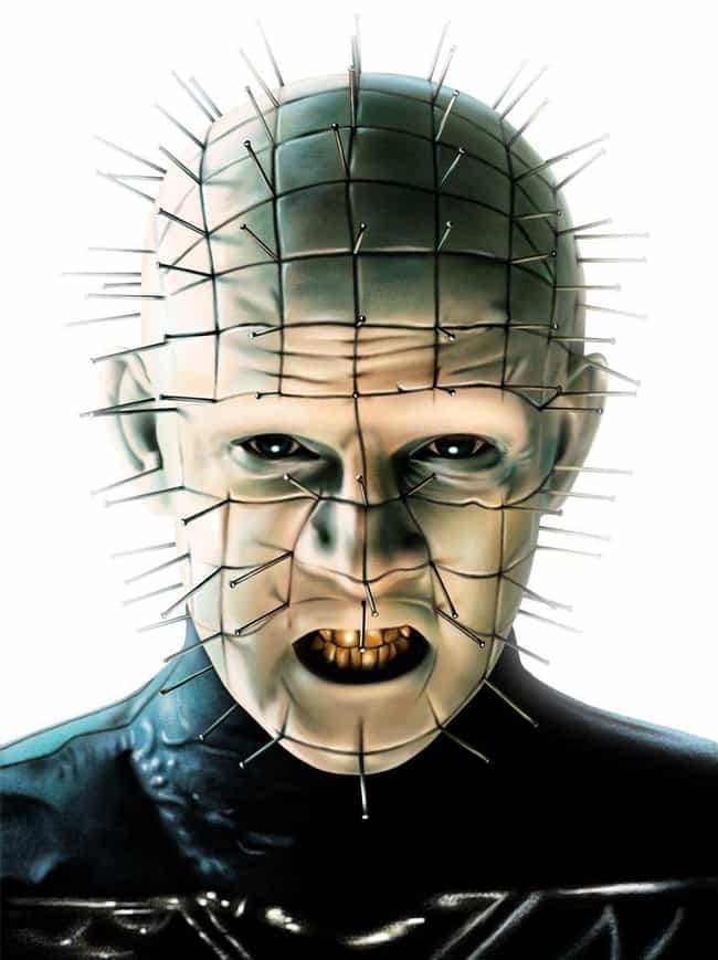Pinhead is listed (or ranked) 3 on the list The Greatest '80s Horror Villains