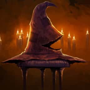 Sorting Hat is listed (or ranked) 20 on the list The Greatest Harry Potter Characters, Ranked