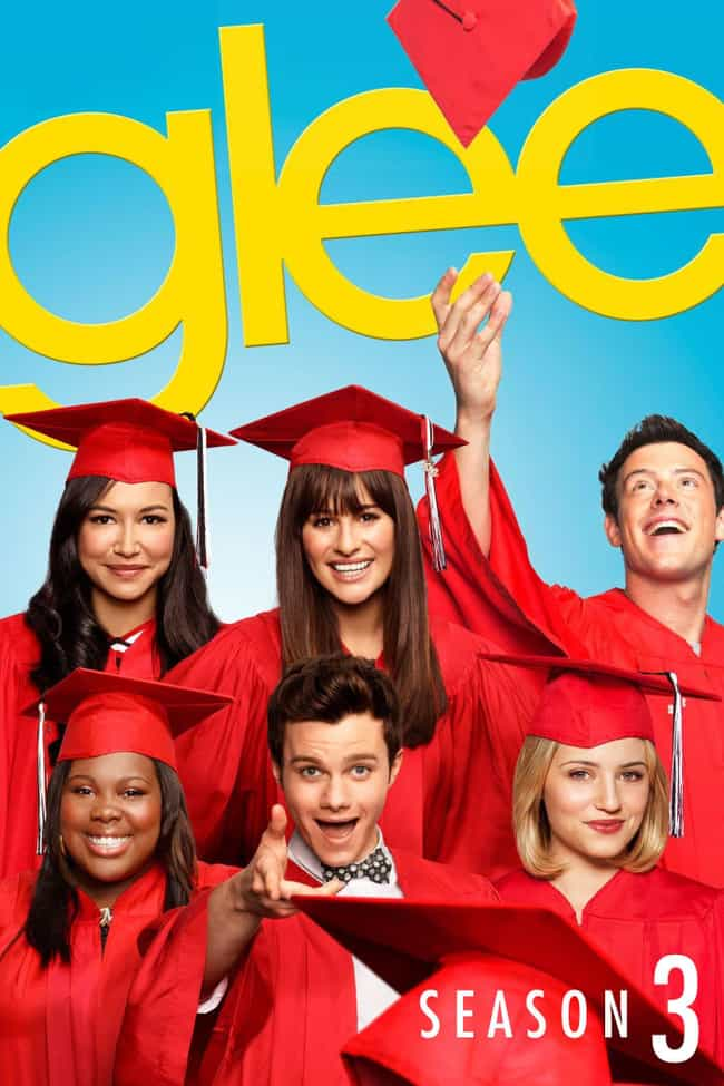 Glee - Season 3 is listed (or ranked) 1 on the list The Best Seasons of 'Glee'