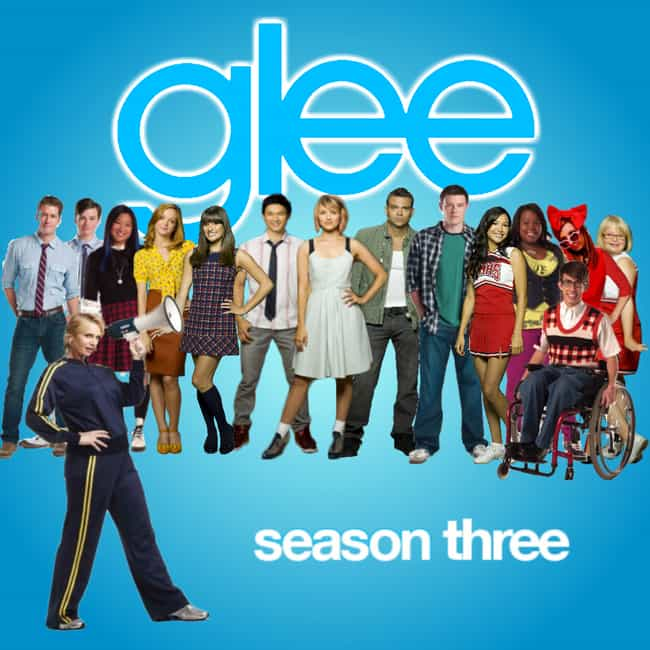 Glee - Season 3 is listed (or ranked) 2 on the list The Best Seasons of Glee