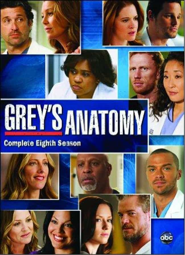 Grey's Anatomy - Season 8 is listed (or ranked) 3 on the list The Best Seasons of Grey's Anatomy