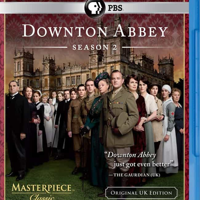 Downton Abbey - Season 2 is listed (or ranked) 3 on the list The Best Seasons of Downton Abbey