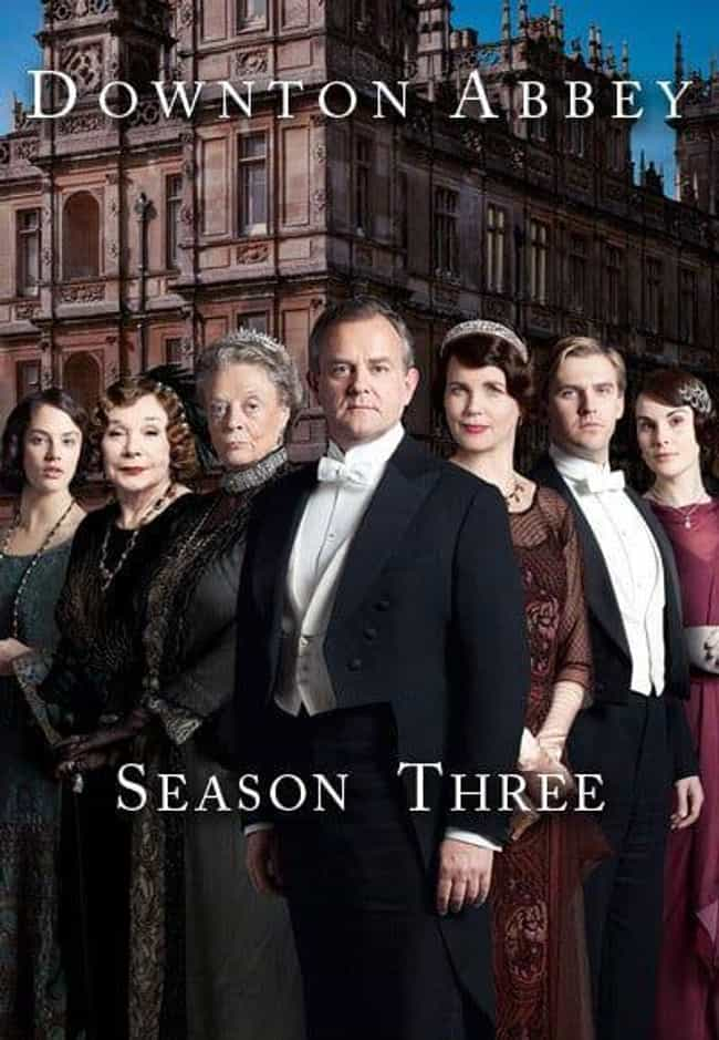 Downton Abbey - Season 3... is listed (or ranked) 2 on the list The Best Seasons of 'Downton Abbey'
