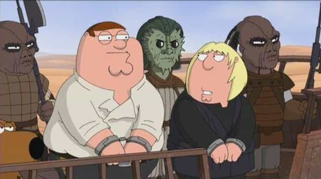 It's a Trap! is listed (or ranked) 3 on the list All The 'Family Guy' Parody Episodes, Ranked