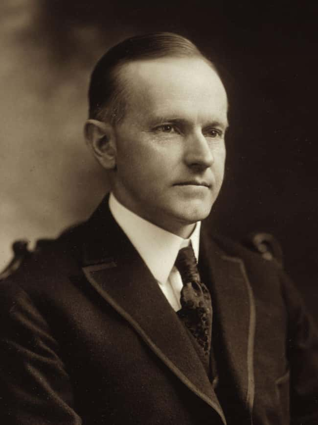 Calvin Coolidge is listed (or ranked) 29 on the list Every U.S. President & Every Medical Problem They've Ever Had