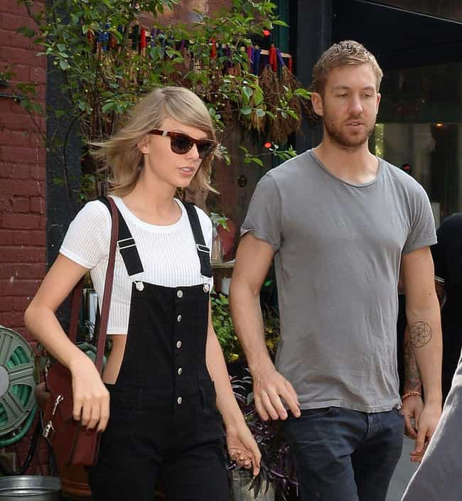 Calvin Harris is listed (or ranked) 2 on the list Taylor Swift's Loves & Hookups