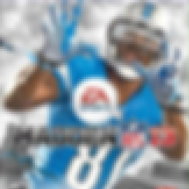 Calvin Johnson is listed (or ranked) 1 on the list The Best Madden NFL Cover Athletes