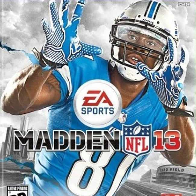 Calvin Johnson is listed (or ranked) 2 on the list The Best Madden NFL Cover Athletes