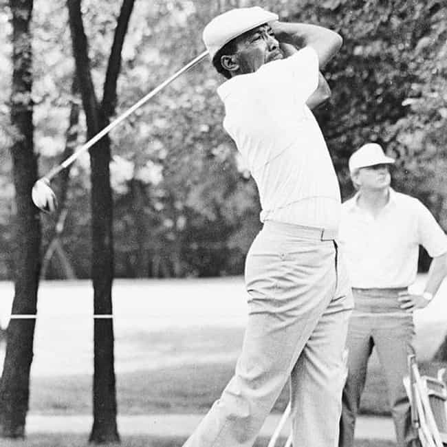 Calvin Peete is listed (or ranked) 3 on the list The Best Black Golfers Of All Time