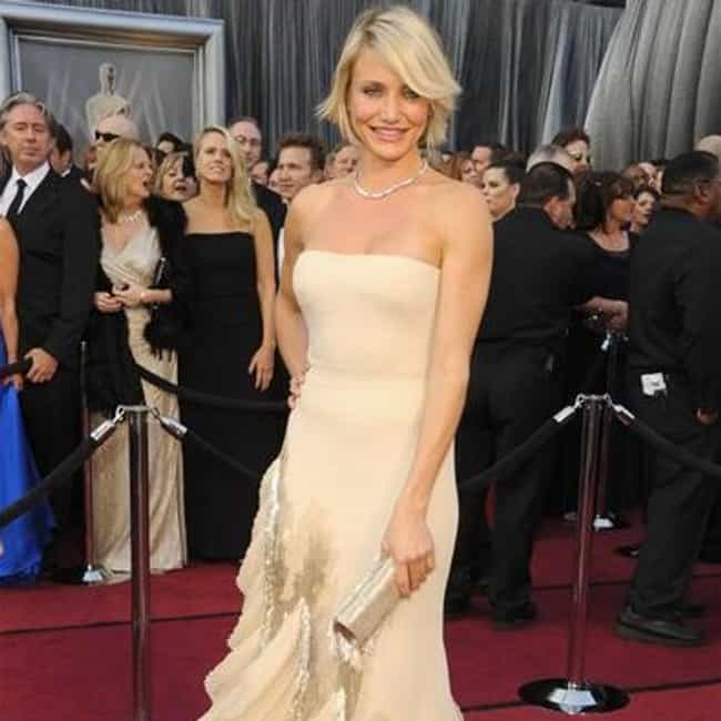 Cameron Diaz is listed (or ranked) 2 on the list 2012 Oscars Red Carpet Worst Dressed
