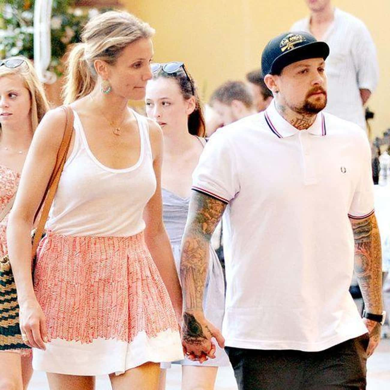 Cameron Diaz and Benji Madden is listed (or ranked) 3 on the list Celebrity Couples Where the Woman Is Taller