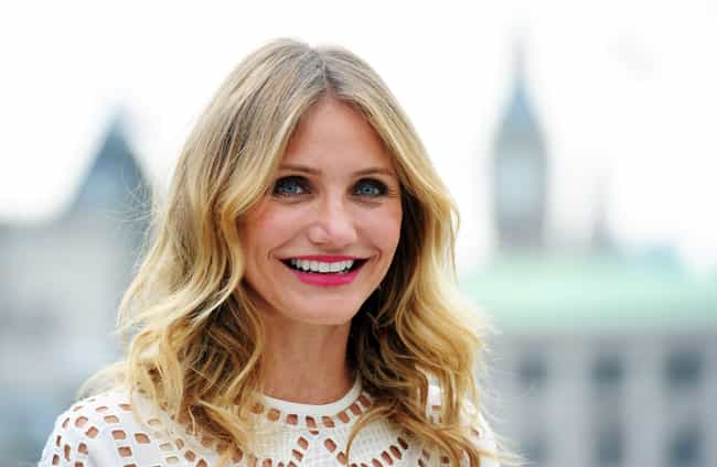 "Cameron Diaz is listed (or ranked) 4 on the list Sean ""Diddy"" Combs' Loves & Hookups"