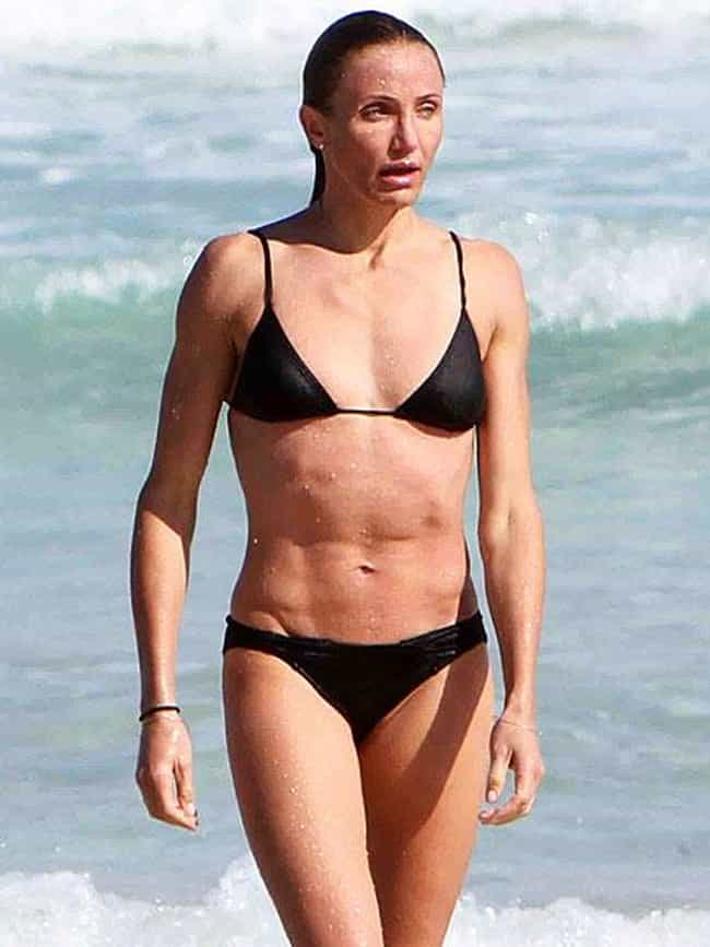 Cameron Diaz is listed (or ranked) 3 on the list 21 Celebrities Who Do CrossFit
