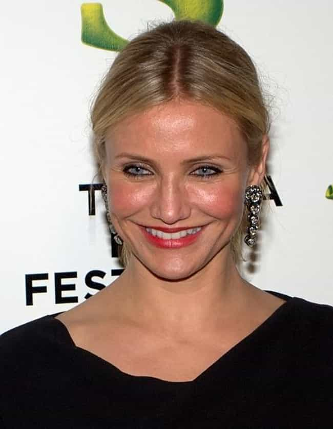 Cameron Diaz is listed (or ranked) 7 on the list Beautiful Celebrity Women with Cute Dimples