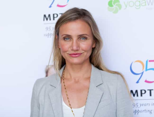 Cameron Diaz is listed (or ranked) 3 on the list Celebrities Who (Proudly) Refuse To Wear Deodorant