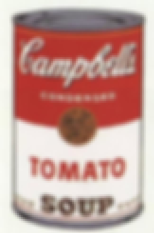 Campbell's Soup Can is listed (or ranked) 3 on the list Famous Andy Warhol Paintings