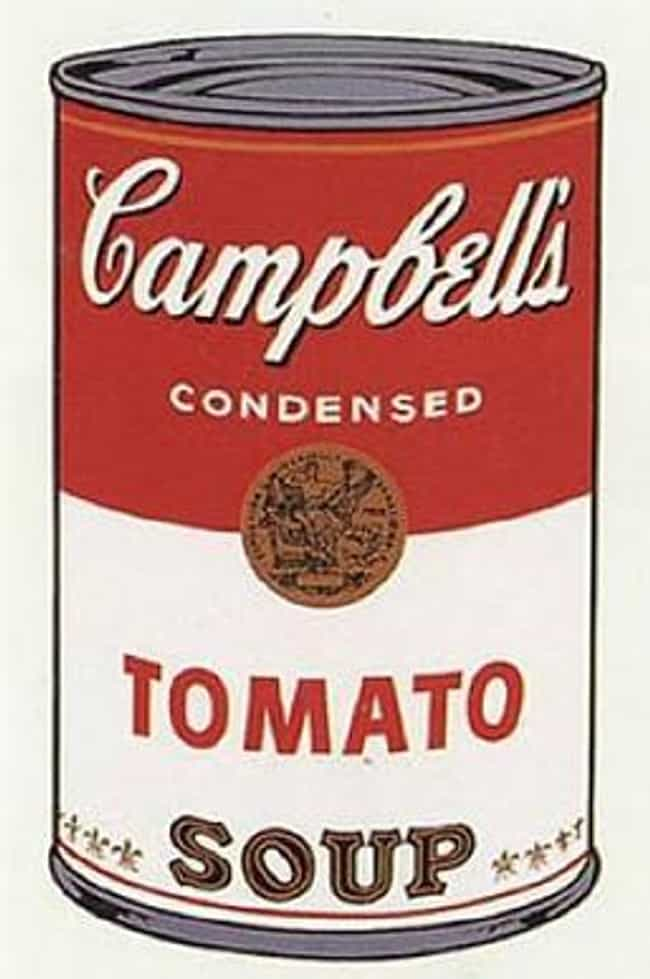Campbell's Soup Can is listed (or ranked) 2 on the list Famous Pop Art Artwork