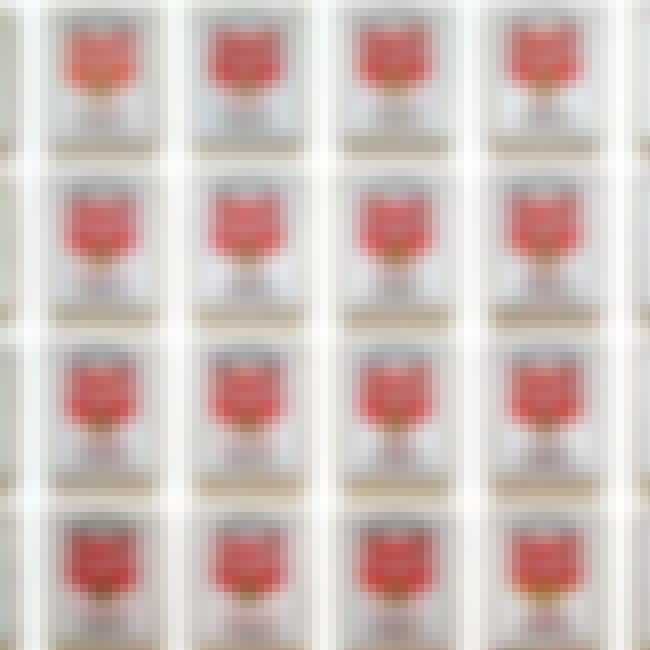 Campbell's Soup Cans is listed (or ranked) 4 on the list Famous Andy Warhol Paintings