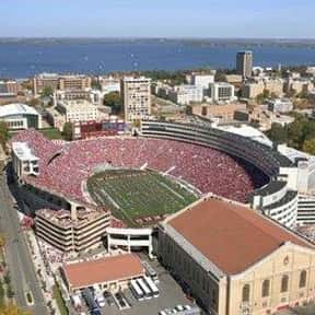 Camp Randall Stadium is listed (or ranked) 19 on the list The Best College Football Stadiums