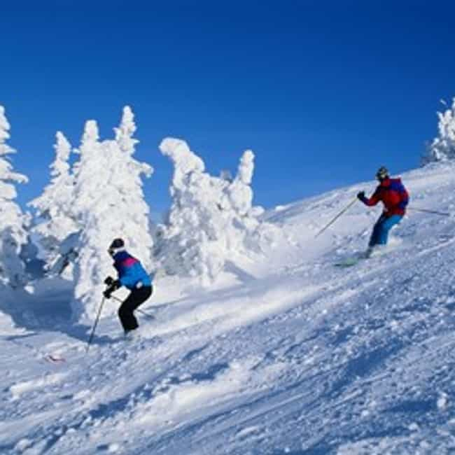 Canada is listed (or ranked) 3 on the list The Best Countries for Skiing