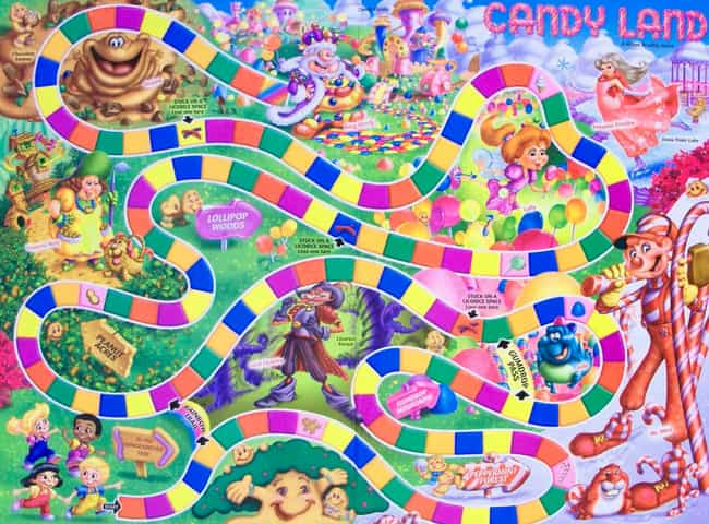 Candy Land is listed (or ranked) 1 on the list The Family-Friendly Milton Bradley Corporation Has A Bizarre History