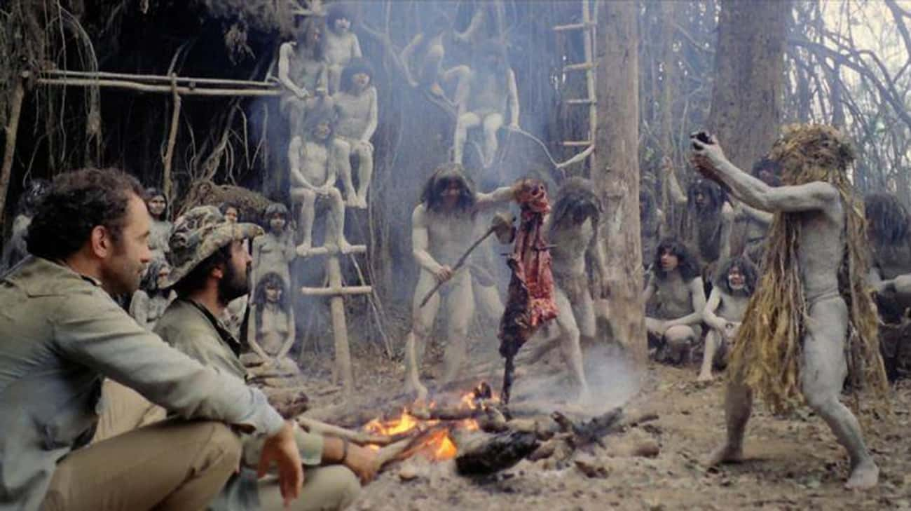 Cannibal Holocaust is listed (or ranked) 1 on the list 15 Controversial, Disturbing Horror Movies That Were Banned