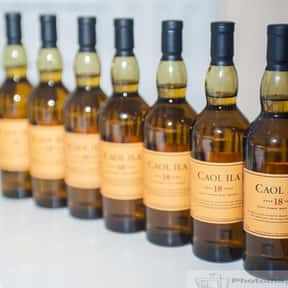 Caol Ila is listed (or ranked) 18 on the list The Best Scotch Brands