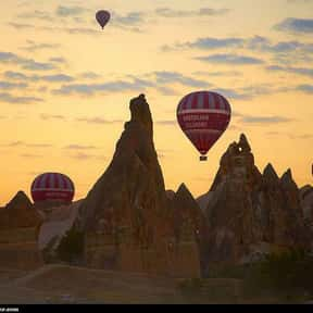 Cappadocia is listed (or ranked) 15 on the list The Most Beautiful Natural Wonders In The World