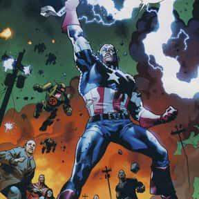 Captain America is listed (or ranked) 3 on the list Characters Who Are Most Worthy Of Lifting Mjolnir