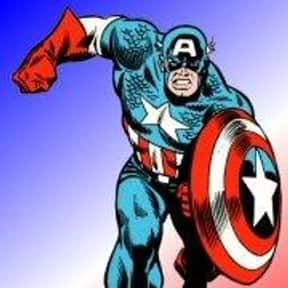 Captain America is listed (or ranked) 7 on the list The Best Comic Book Superheroes Of All Time