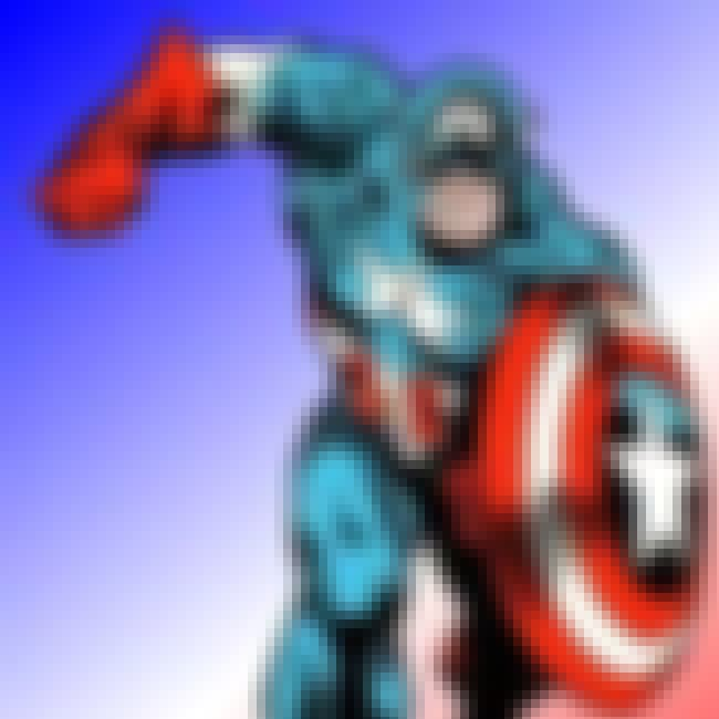 Captain America is listed (or ranked) 6 on the list The Best Comic Book Superheroes of All Time