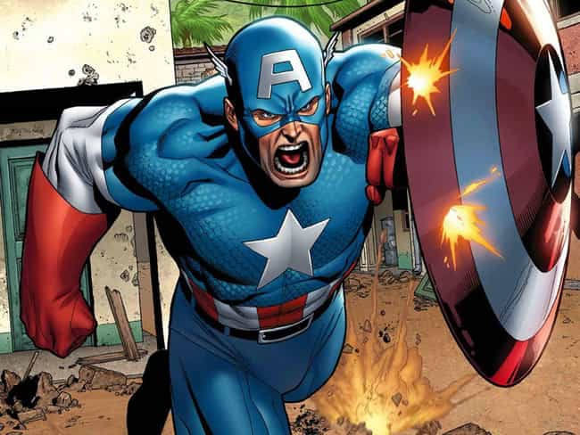 Captain America is listed (or ranked) 2 on the list 14 Beloved Superheroes You Forgot Are Cold-Blooded Murderers