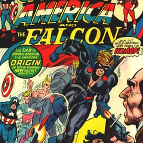 Captain America a.k.a. Nomad,  is listed (or ranked) 6 on the list List Of All Marvel's Avengers