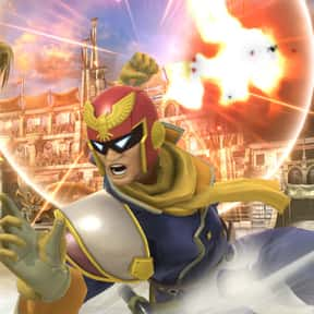 Captain Falcon is listed (or ranked) 4 on the list The Best Super Smash Brothers 4 Characters (Wii U & 3DS), Ranked