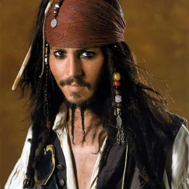 Captain Jack Sparrow is listed (or ranked) 4 on the list The Best Treasure Hunters In Film & TV