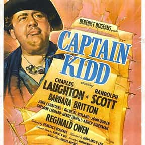 Captain Kidd is listed (or ranked) 21 on the list The Best Pirate Movies
