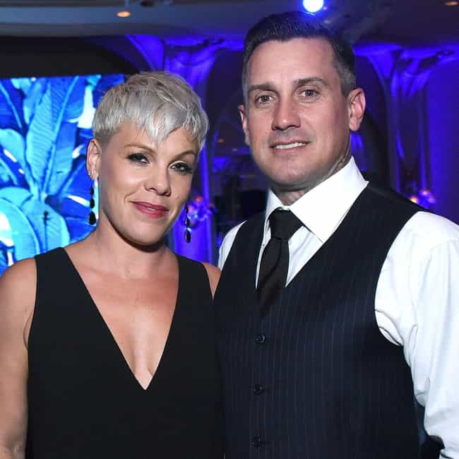 Carey Hart is listed (or ranked) 1 on the list Pink Loves and Hookups