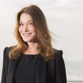 Carla Bruni is listed (or ranked) 3 on the list Famous University Of Paris Alumni