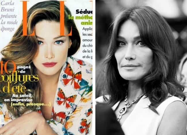 Carla Bruni is listed (or ranked) 2 on the list '90s Supermodels Who Are Out There Succeeding In Other Fields