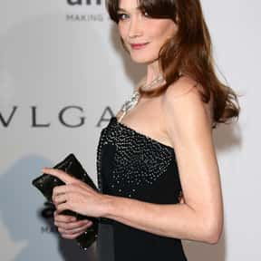 Carla Bruni is listed (or ranked) 20 on the list Hottest Female Celebrities in Their 40s in 2015
