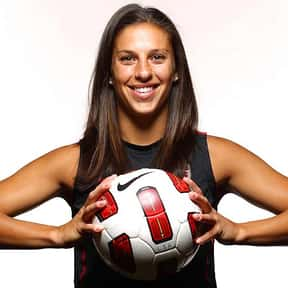 Carli Lloyd is listed (or ranked) 20 on the list Famous Female Athletes from United States of America