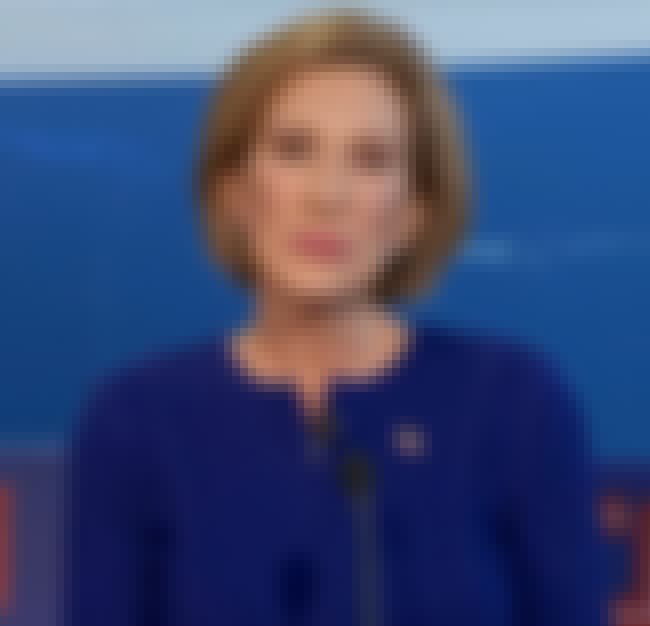 Carly Fiorina is listed (or ranked) 2 on the list 2016 Candidates with the Best Resting Bitch Face