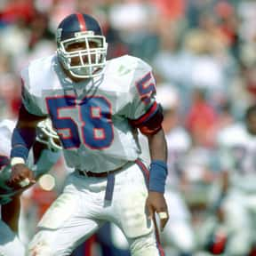 Carl Banks is listed (or ranked) 5 on the list The Best New York Giants of All Time