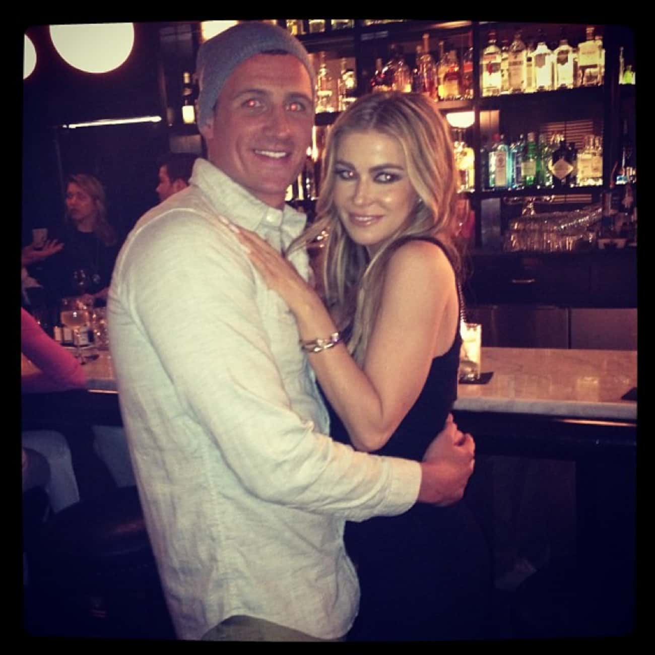Carmen Electra is listed (or ranked) 3 on the list Women Who Ryan Lochte Has Dated: Girlfriends, Flings & Hookups