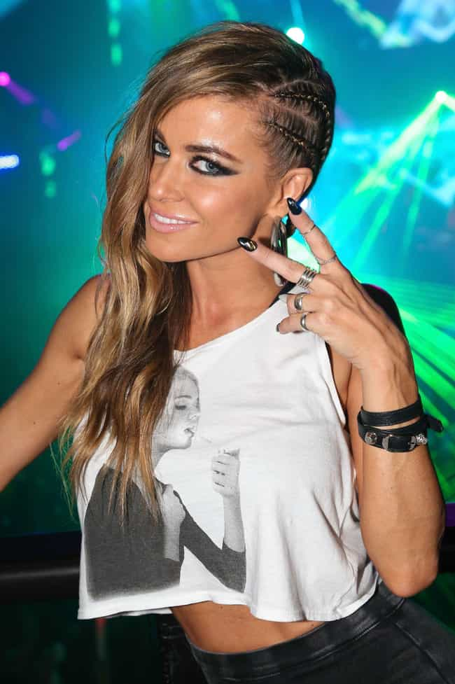 Carmen Electra is listed (or ranked) 3 on the list Famous White Women Who Married Black Men