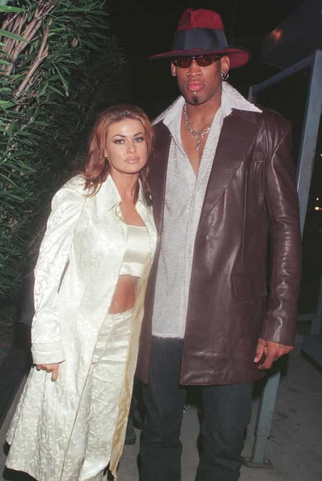 Carmen Electra is listed (or ranked) 4 on the list Women Who Dennis Rodman Has Dated