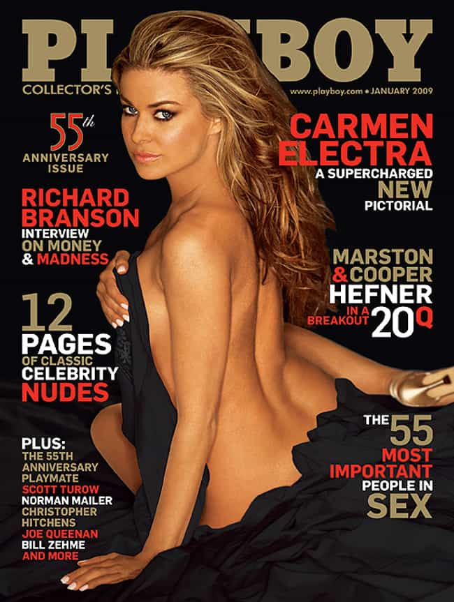Carmen Electra is listed (or ranked) 2 on the list The Best Playboy Covers