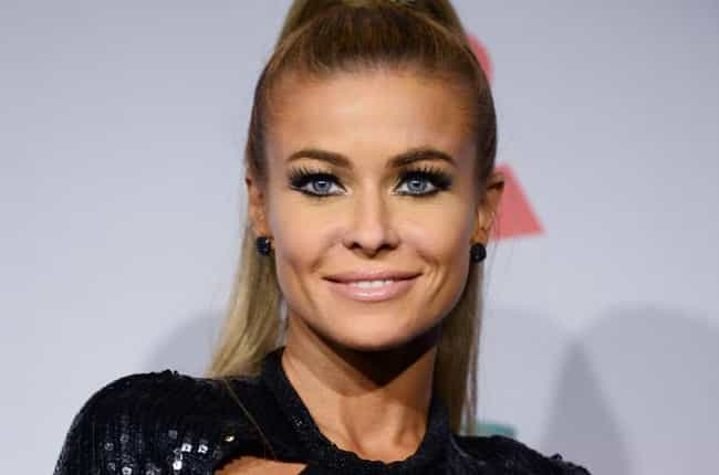 Carmen Electra is listed (or ranked) 4 on the list 11 Celebrities Who Probably Got Married Drunk